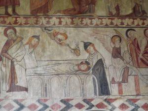 Church wall paintings